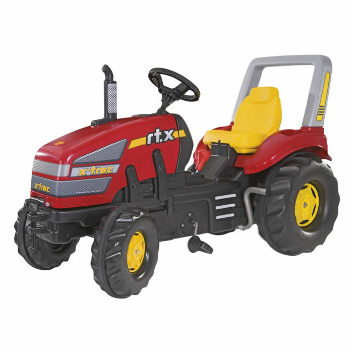 Rolly Toys Rolly X-Trac met versnelling en rem